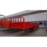 Wholesale 3 axle side wall open semi trailer stake  semi  trailer - CIMC from china suppliers