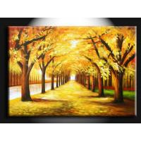 Wholesale DL095 Beautiful Affordable House Wall Paint Scenery Handmade Oil Painting from china suppliers