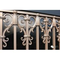 Wholesale Golden Cottage Motorized Sliding Gate Collapsible Aluminum Automatic For Bungalow from china suppliers