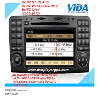 Buy cheap Android car DVD GPS 3D Wifi for Benz ML CLASS /BENZ W164(2005-2012)/BNEZ X164(2005-2012) from wholesalers