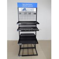 Wholesale Freestanding Cups / Mugs Metal Display Racks Double Sided Multi - Layer For Shops from china suppliers