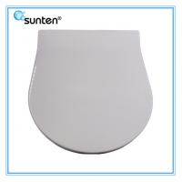 Quality White Urea Flat European Quick Release Toilet Seat Manufacturer for sale