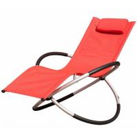Wholesale Comfortable Other Furniture Folding Rocking Beach Chair With Pillow Steel Frame from china suppliers
