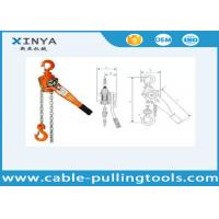 Wholesale Basic Construction Tools 2 Ton Vital Manual Lever Chain Hoist Block Pulley from china suppliers