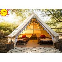 Wholesale Multifunctional Outdoor Canvas Inflatable Tent 4m 5m Saraha Camping Tipi Tent from china suppliers