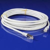 Wholesale White Copper CAT6A Patch Cable / CAT6A FTP Patch Cord with PVC Jacket from china suppliers