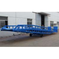 Wholesale DCQY10 - 0.6 Mobile Loading Hydraulic Dock Leveler for Rated Load 10t from china suppliers