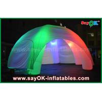 Wholesale 5 Legs LED Lighting Inflatable Spider Inflatable Dome Tent With CE / UL Blower from china suppliers