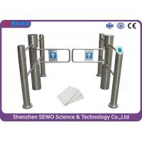 Wholesale simple design stainless steel double leaf unpanic swing barrier gate turnstile from china suppliers