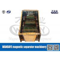 Wholesale Large Capacity 3 Layer Roller Type Magnetic Separator For Conveyor Belts from china suppliers