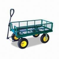 China Foldable Garden Cart with 300kg Loading Capacity, Can be Used for Holding Flowerpots on sale