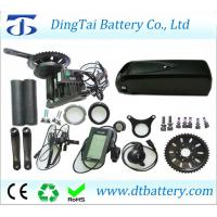 Wholesale BBS03/BBSHD 8Fun 48V 1000W mid drive motor kit with higest power 52V 17.5Ah Li-ion USB hailong down tube battery from china suppliers