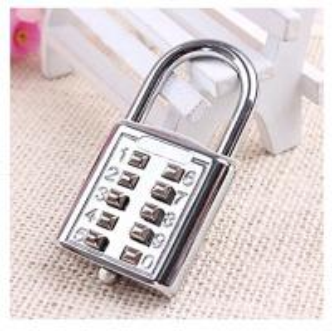 Quality Mini push button Code zinc alloy Combination lock 10 pin Sports Locker for sale
