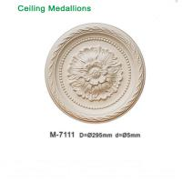 Wholesale Polyurethane ceiling medallion / lamp base various size available 295mm 350mm 390mm from china suppliers