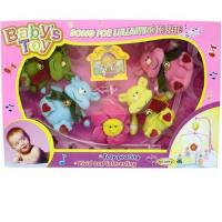 Wholesale Baby Toys - Musical Box Cow Baby Mobile Playset (RPC67360) from china suppliers