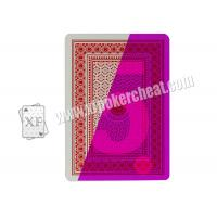 Wholesale China 100% Plastic 4 Index Jumbo Poker Marked Playing Cards For Poker Cheat from china suppliers