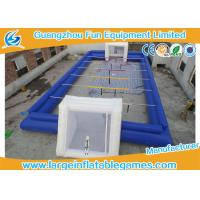 Wholesale 0.55MM PVC Inflatable Football Pitch Inflatable Soccer Playground from china suppliers