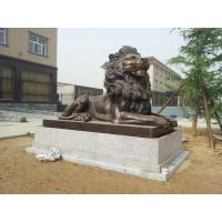 Wholesale Bronze Casting Art Lion Sculpture for  government Decor in  Gate from china suppliers