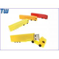 Wholesale Customized Plastic Truck 4GB Pen Drive Disk Express Logistics from china suppliers