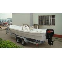 Wholesale Erosion Resistant Fiberglass Fishing Boats Easy Operate 6.8 M For Water Parks from china suppliers