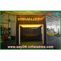 Wholesale Costomized Led Inflatable Cube Tent For Exhibition With Groove from china suppliers