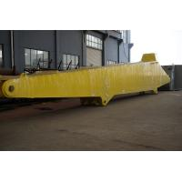 Wholesale Yellow Nonstandard Components Crane Boom , Marine Equipment Parts Fabrication from china suppliers