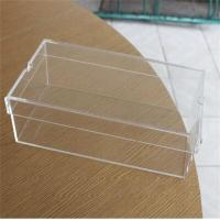 Wholesale Crystal clear acrylic shoe display box Transparent Acrylic Sneaker Box from china suppliers