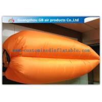 Wholesale Removable Hangout Inflatable Lazy Bag Folding Bed For Party  / Water Park from china suppliers