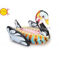 Wholesale No Odor Inflatable Water Floats , Inflatable Swan Float For Party from china suppliers