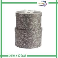 Quality Round Cardboard / Leatherette Paper Tube Box , Luxury Dress Packaging Boxes for sale
