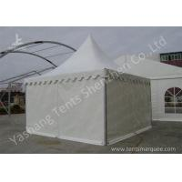 Wholesale Water Repellent Aluminum Alloy Frame High Peak Tents White PVC Fabric Cover from china suppliers
