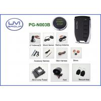 Quality PG-N003B Anti-theft Car alarm Passive Keyless Entry with Push Start and Remote Start for sale