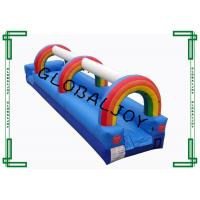 Wholesale Commercial 0.55mm Pvc Tarpaulin Inflatable Slip N Slide For Adults from china suppliers