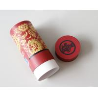 Wholesale Environmental Red Gift / Craft Paper Tube packaging Box with ISO SGS FDA QS from china suppliers