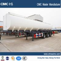 Wholesale 40500litres capacity Liquid Oil Tank Semi Trailer with 3 axle single tyres from china suppliers