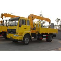 Wholesale Sinotruk Howo7 Chassis 25 Ton Truck Mounted Crane 6x4 Hydraulic Steering from china suppliers