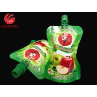 Wholesale Food Grade Stand Up Pouch With Spout / Reusable Liquid Packaging Bag from china suppliers