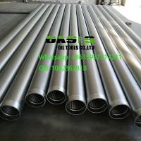 Quality Johnson screen pipe water well screen continuous slot wire wrapped stainless steel for sale
