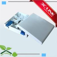 Wholesale Indoor Fiber Terminal Box 1-2 Port , Fiber Optic Termination Box For FTTH / FTTO 86mm X 86mm X 25mm from china suppliers