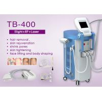 Wholesale 4 Handpieces E-light IPL RF Nd Yag Laser Beauty Machine For Hair / Wrinkle / Tattoo removal from china suppliers