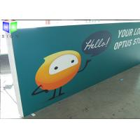 Wholesale Business Slim LED Light Box Display Aluminum Waterproof For Shop Front Name from china suppliers