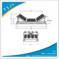 Wholesale Conveyor transition 20deg roller set from china suppliers