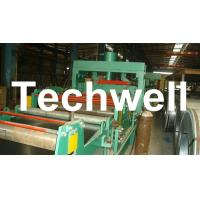 Wholesale 4 - 8m/min Steel Silo Corrugated Wall Panel Roll Forming Machine For Galvanized Sheet from china suppliers