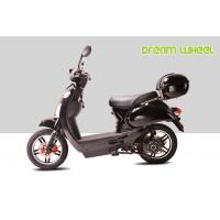 "Wholesale Black 25KM - 32KM / H Electric Gear Motor Scooters 500W 16"" X 3.0 Disc Brake with CE, RoHS from china suppliers"