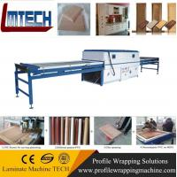 Quality kitchen cabinet laminated pvc mdf door vacuum membrane press machine for sale