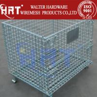 Wholesale Metal cage storage container/Industrial wire baskets from china suppliers