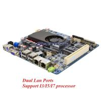 Wholesale I3 I5 I7 CPU Industrial PC Motherboard RAM Max 8GB Motherboard With DC 8 - 36 V Power Supply from china suppliers