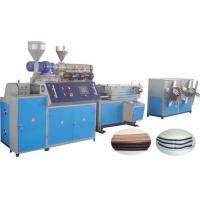 Wholesale Extrusion Plastic Corrugated Pipe Production Line , PECorrugated Plastic Pipe Making Machine from china suppliers