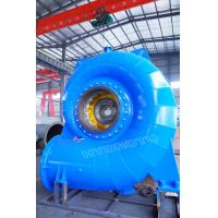 Wholesale Horizontal / Vertical Shaft Francis hydro Turbine With Hydropower Project water head 30-300m from china suppliers
