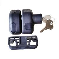 Wholesale Key lockable Side Pull Magna Latch-EK300.20 from china suppliers